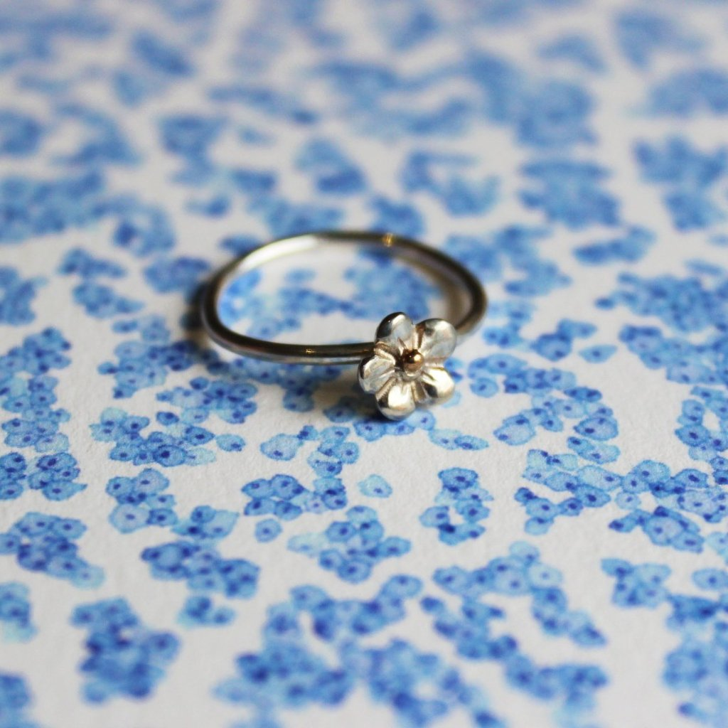 Forget me not ring - Kathryn Rebecca