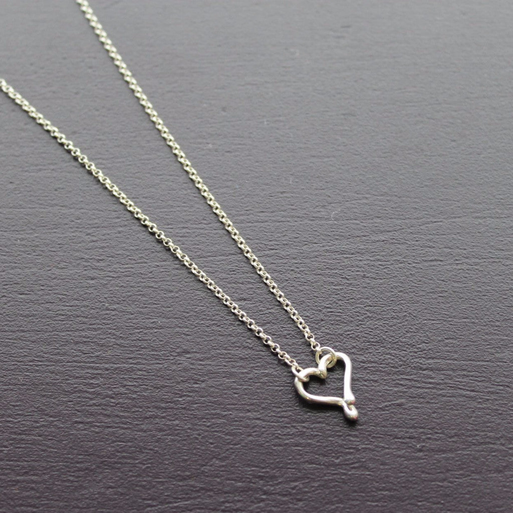 Small heart necklace - Kathryn Rebecca