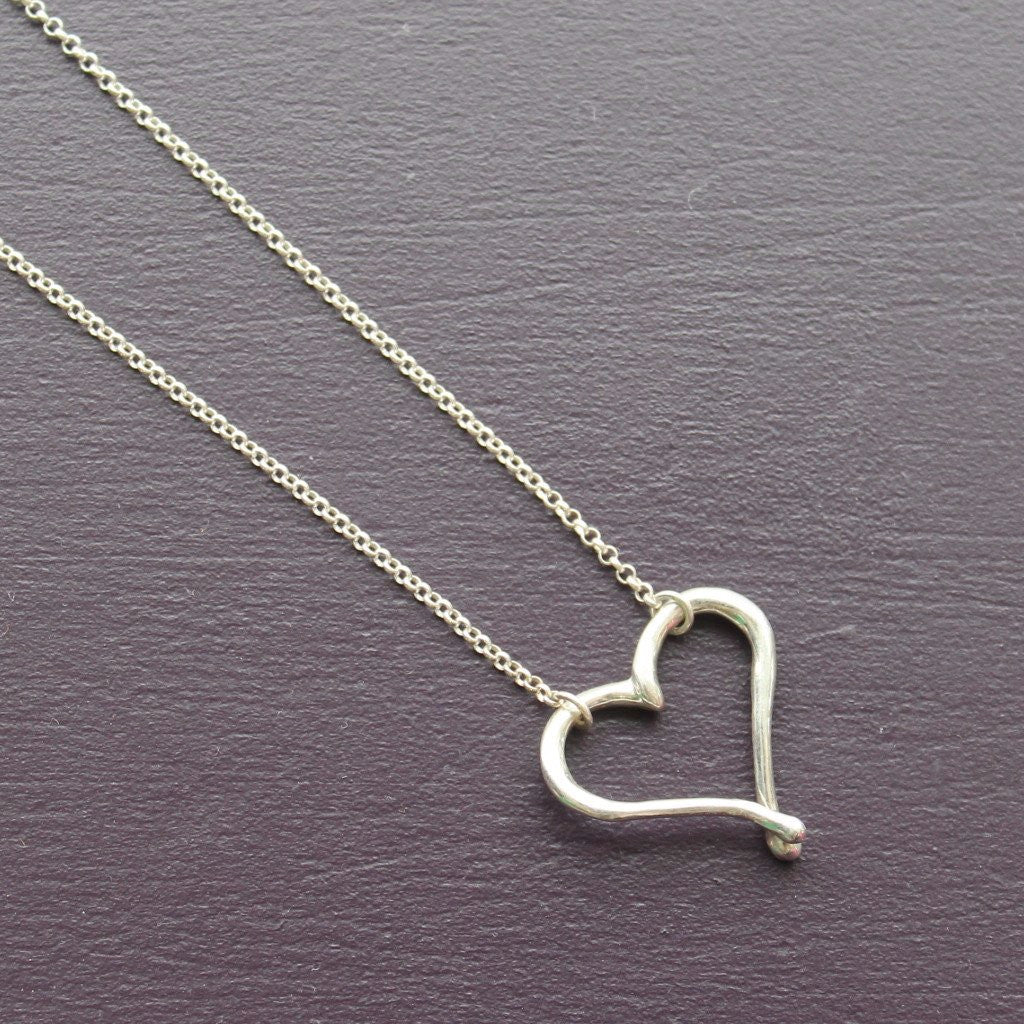 Large heart necklace - Kathryn Rebecca
