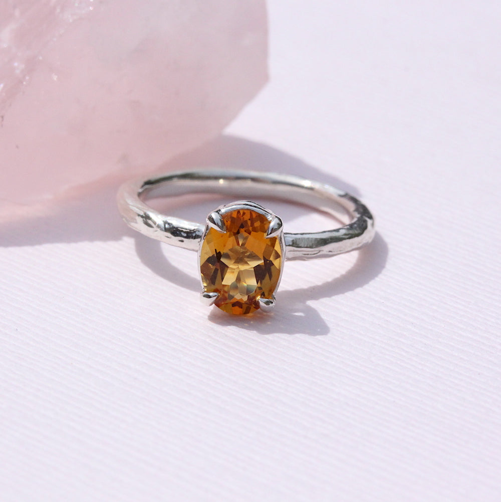 Blooming Branch Oval ring