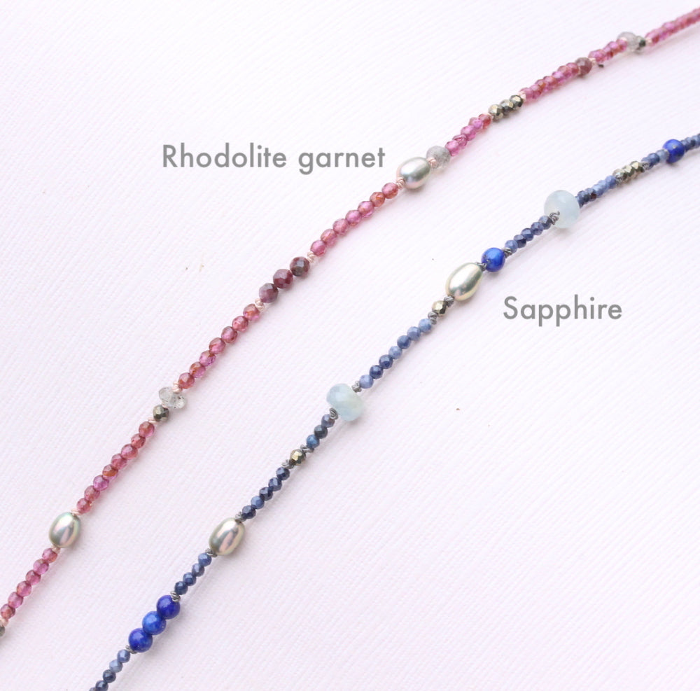 Gemstone Layering Necklace