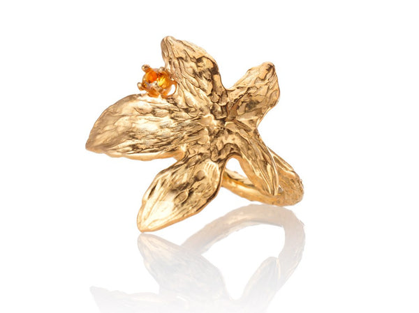 Autumn leaves - ring