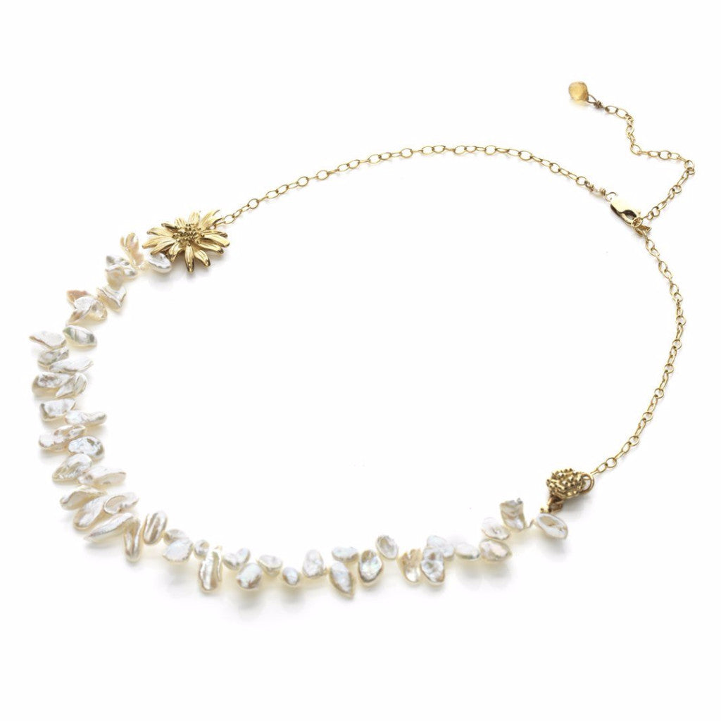 Wildflower - Daisy necklace - Kathryn Rebecca