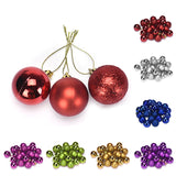 24PC Christmas Xmas Party Hanging Ball 4 cm Hot