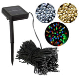 Decorative Solar Christmas Lights 100 LED Modes Fairy String Light for Outdoor Seasonal Decorations