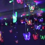 Christmas Tree Hanging Led Butterfly String Light