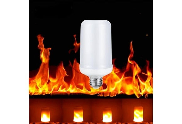 E27 E26 E14 B22 E12 LED Flame Light Flicker Lamp Bulb Fire Effect 99SMD 5W Party Decor Light  Christmas decorations