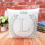 Maiyubo 2019 Christmas Throw Pillow Cover Luxury Crystal Diamond Pattern Cushion Cover
