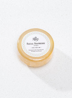 Facial Soapberry 無患子蓮花石鹸