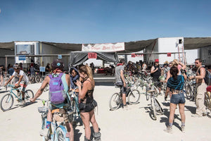 I was a Bike Repairman at Burning Man, by Marek Musil
