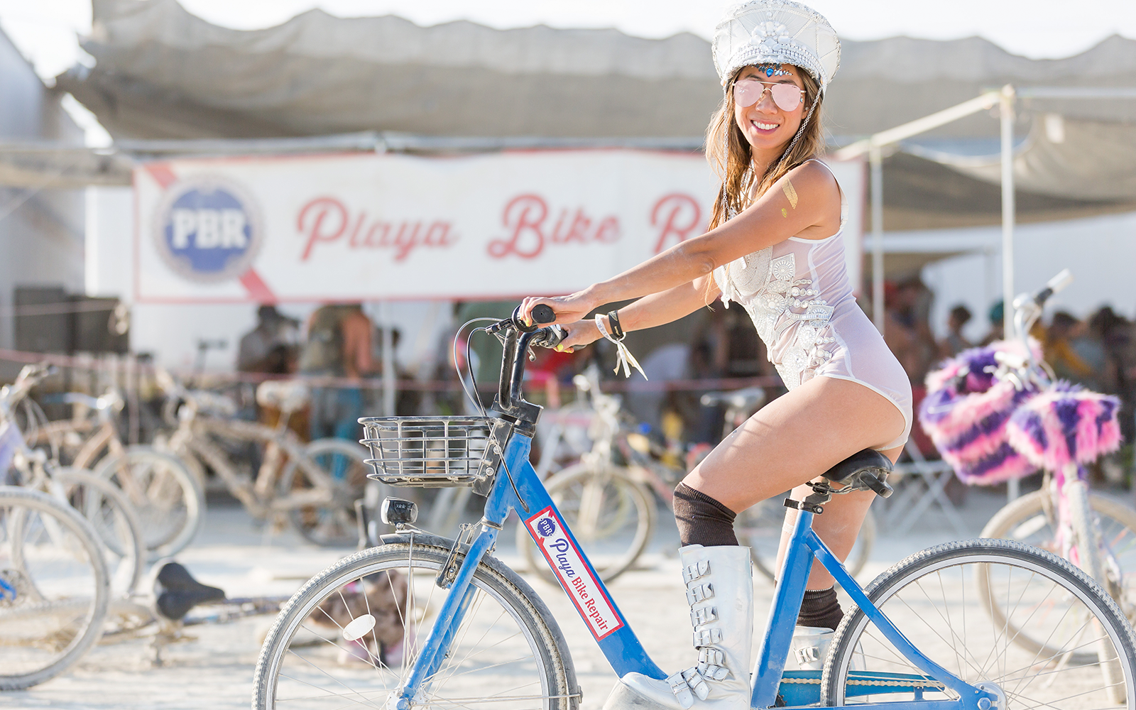 What makes a great Burning Man Bike?