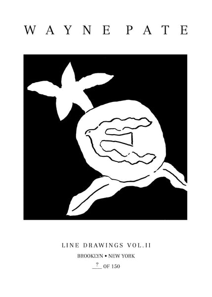 Wayne Pate Line Drawings Vol. II Book