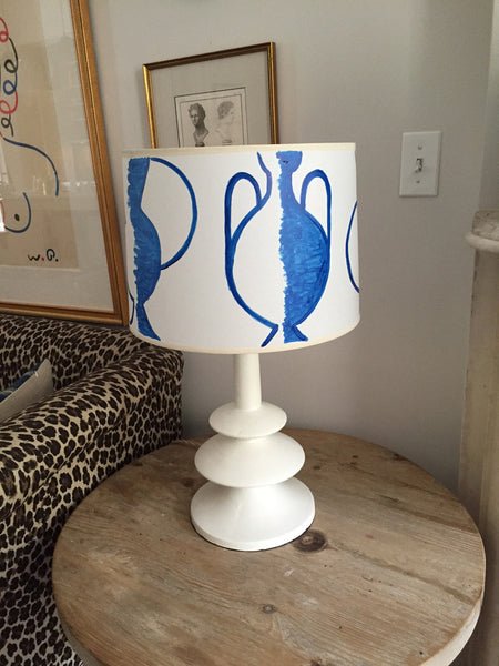 Gio Ponti Blue Lamp Shade