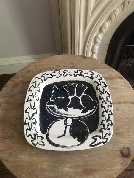 """Around The Table"" Ceramic Platter"