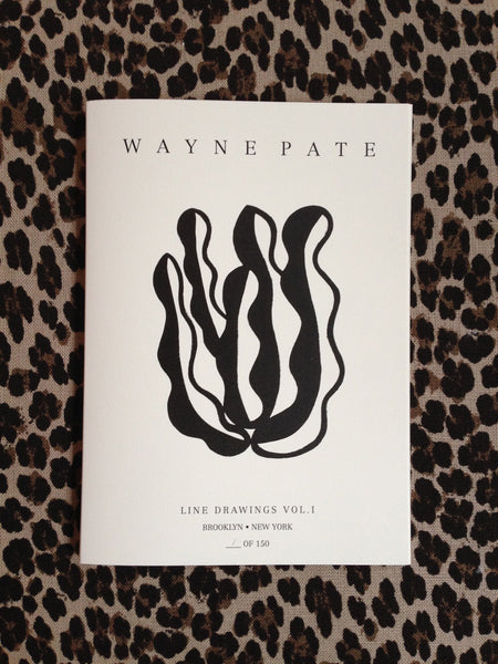 Wayne Pate Line Drawings Vol. 1 Book