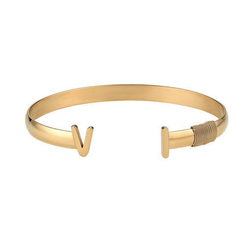 Ladies Virgin Islands Bangle (Gold)