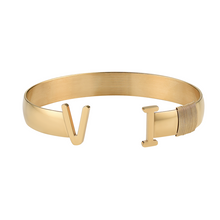 Load image into Gallery viewer, Unisex Virgin Islands Bangle Gold