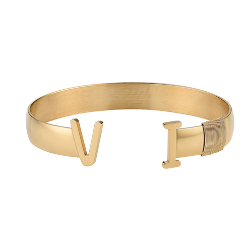 Unisex Virgin Islands Bangle Gold