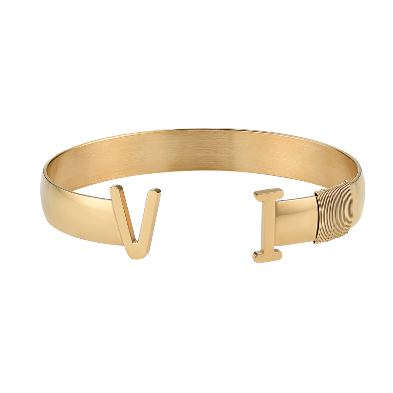 Original Unisex VI Bangle (Gold)