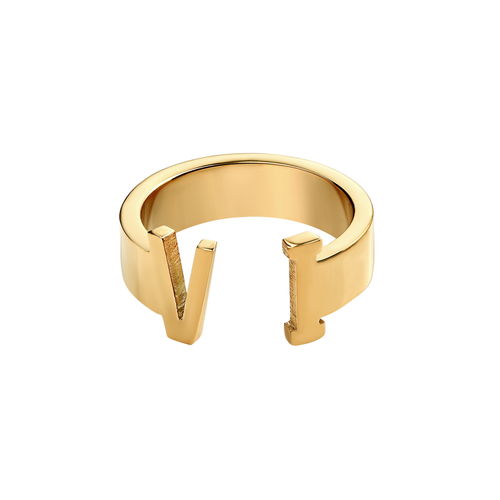 Unisex Virgin Islands Ring (Gold)