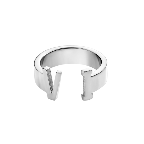 Unisex Virgin Islands Ring (Silver)