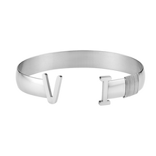 Load image into Gallery viewer, Unisex VI Bangle (Silver)