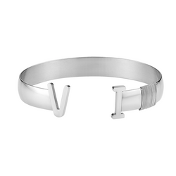 Unisex Virgin Islands Bangle (Silver)