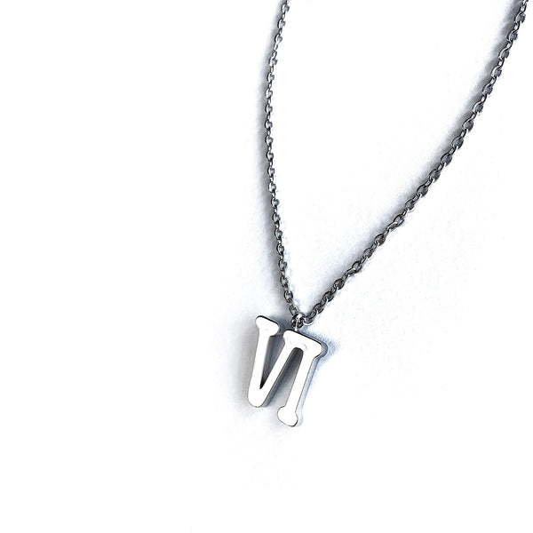 Silver VI Necklace