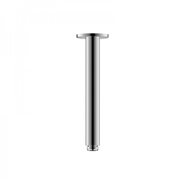 BRAVAT ROUND CEILING SHOWER ARM 200MM