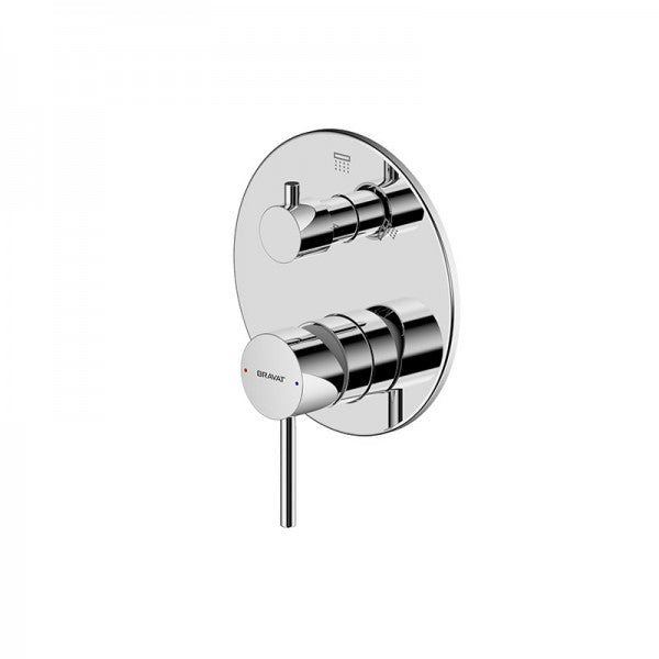BRAVAT ARC SHOWER & BATH DIVERTER MIXER
