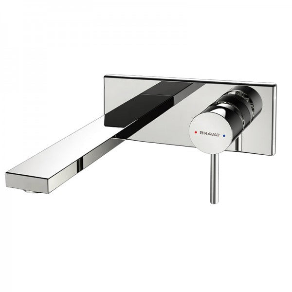 BRAVAT ARC WALL BASIN OR BATH MIXER