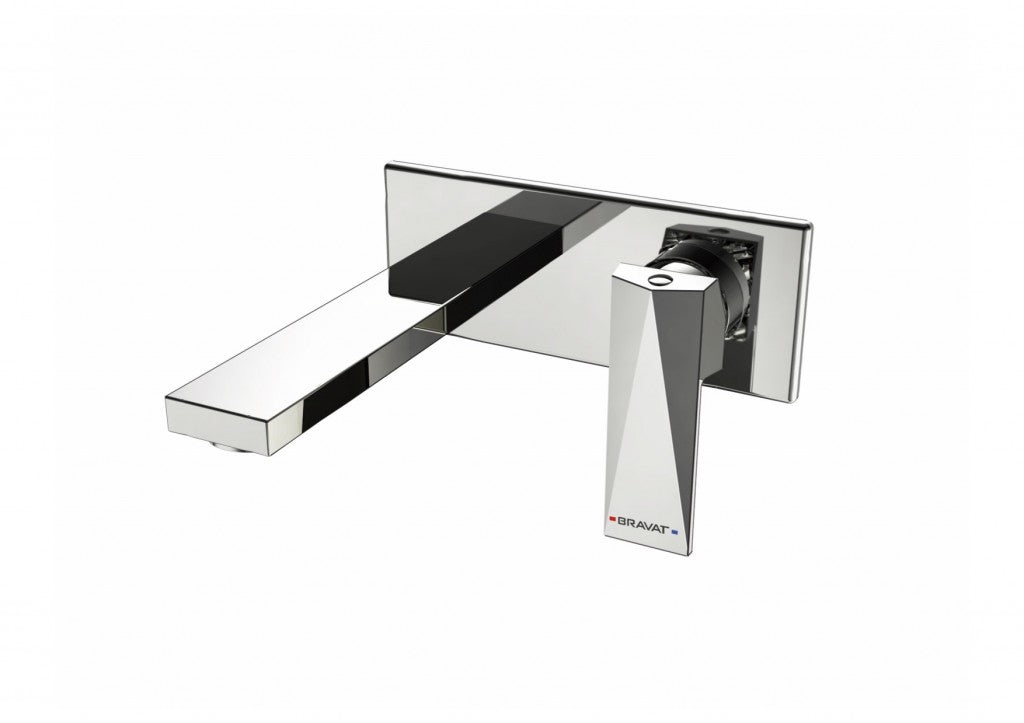 BRAVAT DIAMOND WALL BASIN OR BATH MIXER