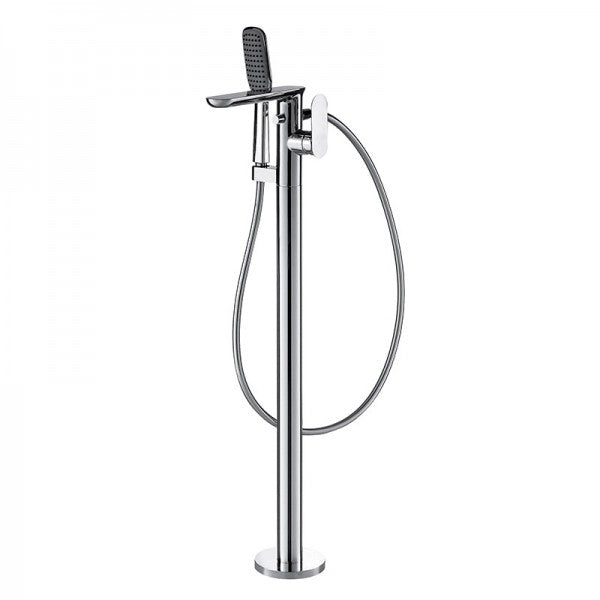 BRAVAT GINA FREESTANDING SHOWER + BATH FILLER