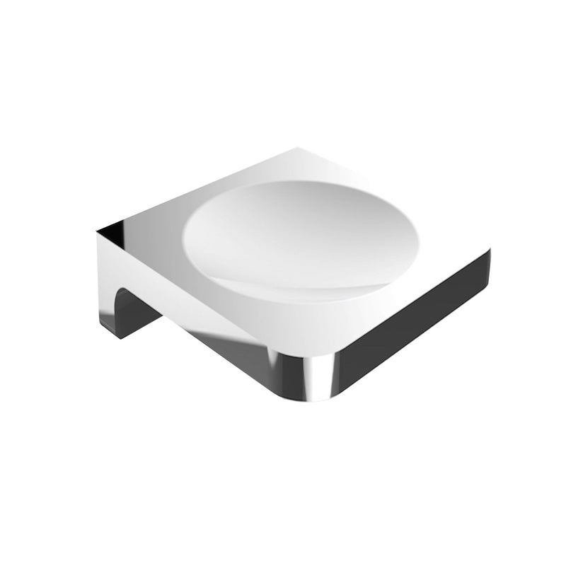LUCI – SOAP DISH ( GLASS OR WALL MOUNTED )