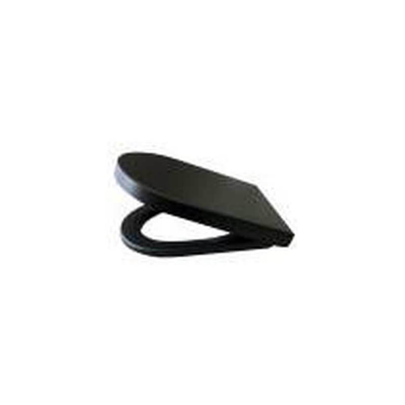 Matte Black Soft Close Seat - LV.STMB