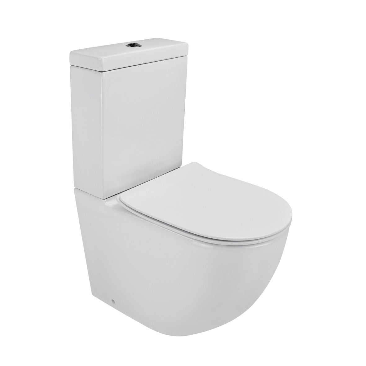 LUCI ZERO TOILET SUITE SLIM – RIMLESS DESIGN