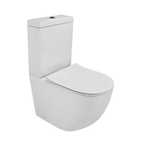 LUCI ZERO TOILET SUITE SLIM - DESIGN SENZA BORDO