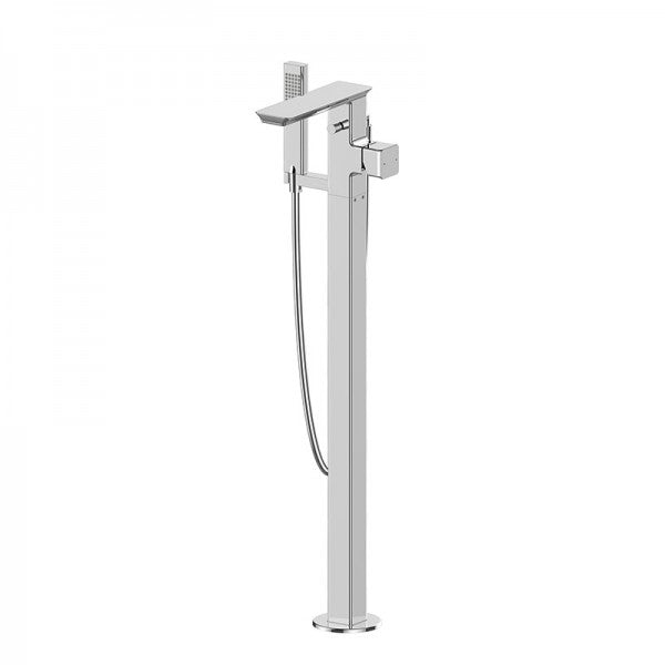 BRAVAT PHILLIS FREESTANDING SHOWER + BATH FILLER