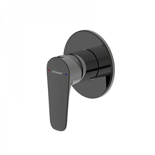 BRAVAT SOURCE SHOWER MIXER – MATT BLACK
