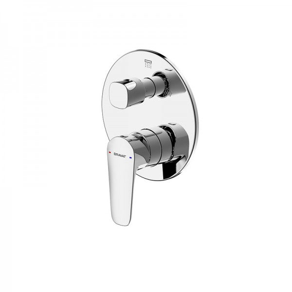 BRAVAT SOURCE SHOWER & BATH DIVERTER MIXER