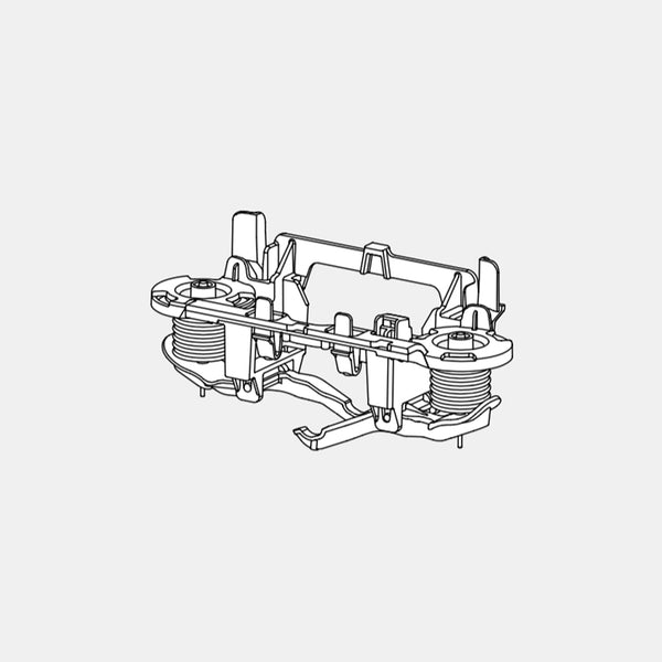 VEROTTI SLIM IN-WALL SPART PARTS - VS0866792 PNEUMATIC CENTRE BLOCK