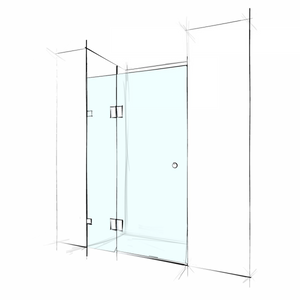 FRAMELESS – WALL-TO-WALL 2 PANELS
