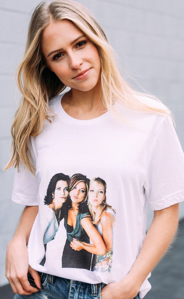 Shop PHOEBE MONICA RACHEL TEE -- As You Go Boutique