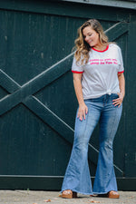 Shop ALYSSA SUPER FLARE JEANS -- As You Go Boutique