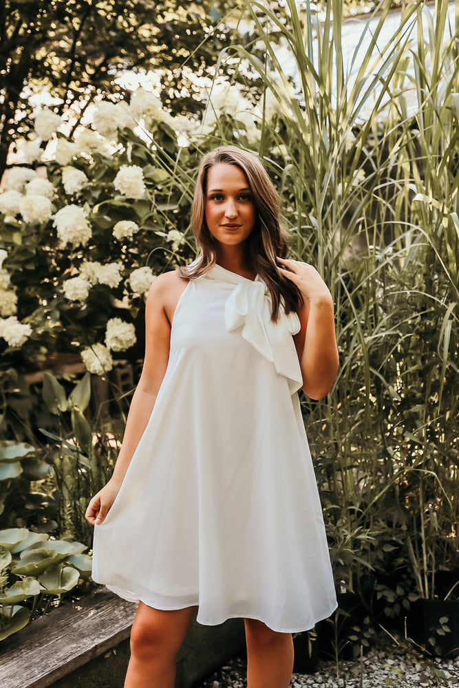 ONE WISH DRESS IN WHITE