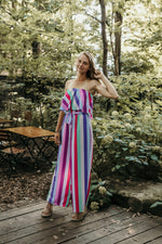 Shop PERFECT DAY JUMPSUIT IN FUCHSIA -- As You Go Boutique