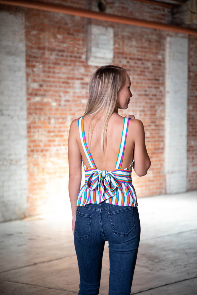 Shop TOP SHELF TANK IN MULTICOLOR -- As You Go Boutique