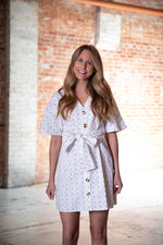 LETS BRUNCH DRESS IN WHITE - As You Go Boutique