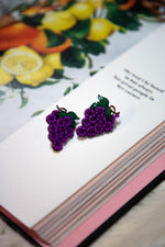 GRAPE GALA EARRINGS