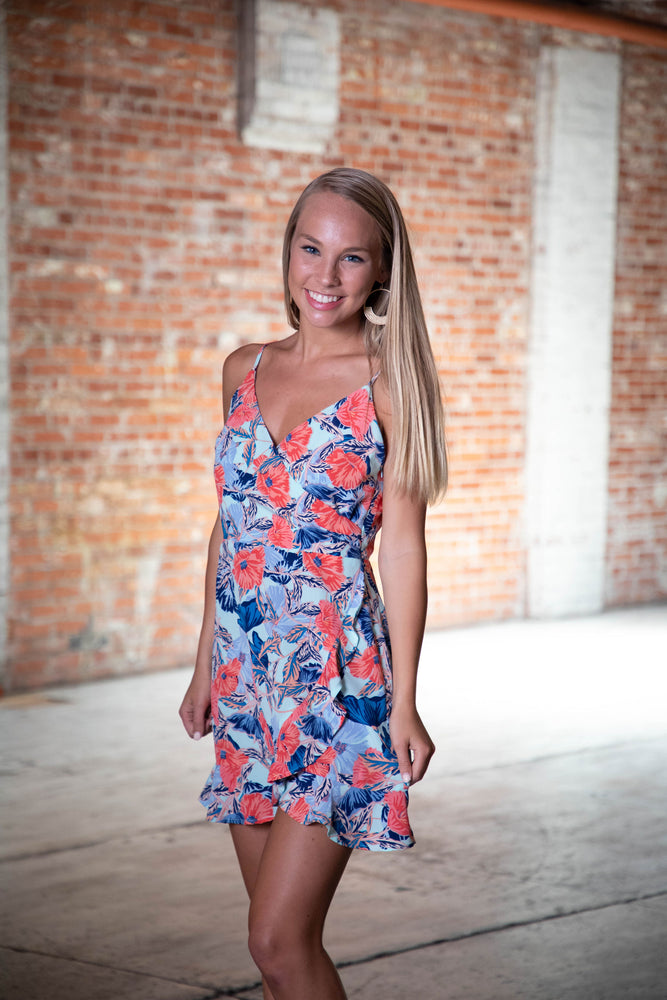 Shop ISLAND TIME MINI DRESS -- As You Go Boutique